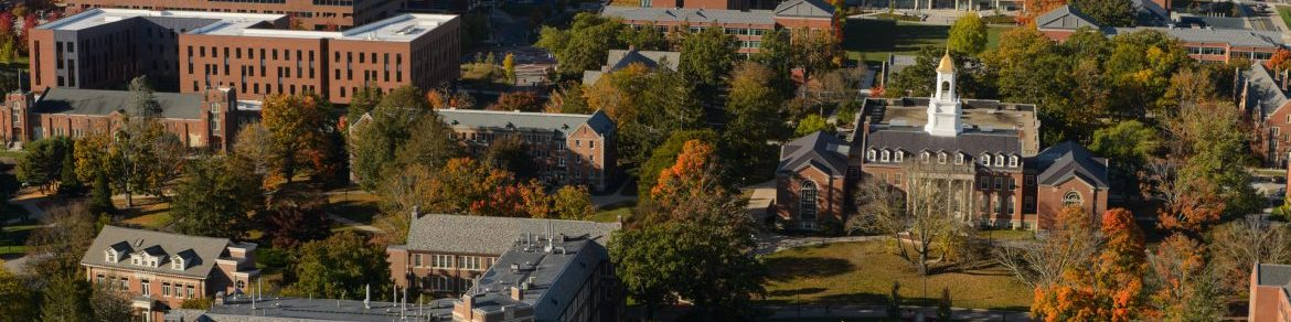 Aerial view of the Storrs Campus.
